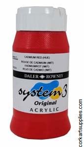 System 3 500ml Cadmium Red (Hue)