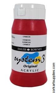 System 3 500ml Crimson