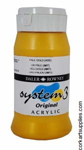 System 3 500ml Pale Gold (Imitation)