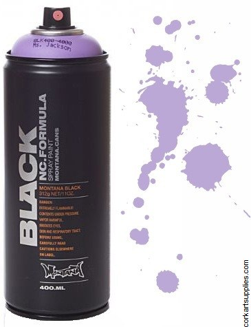 Montana BLACK Spray 400ml - Ms Jackson
