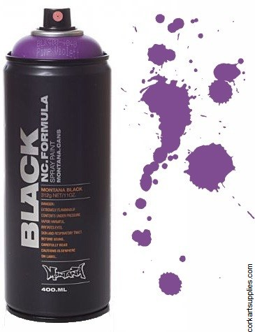 Montana BLACK Spray 400ml - Pimp Violet