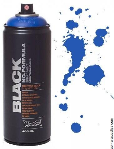 Montana BLACK Spray 400ml - Royal Blue