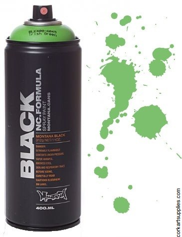 Montana BLACK Spray 400ml - Irish Green