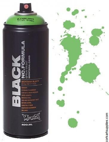 Montana BLACK Spray 400ml - Irish Green