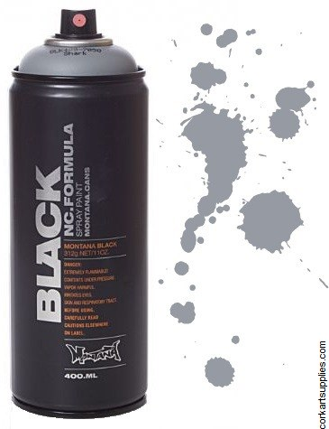 Montana BLACK Spray 400ml - Shark