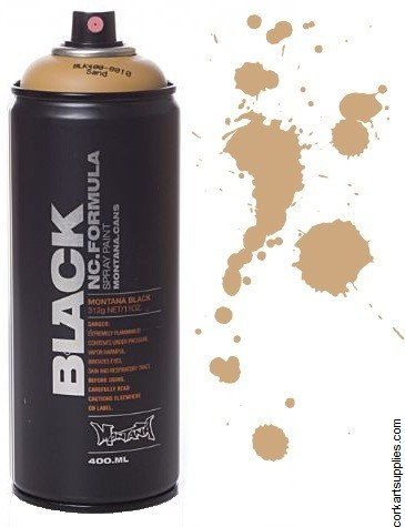 Montana BLACK Spray 400ml - Sand