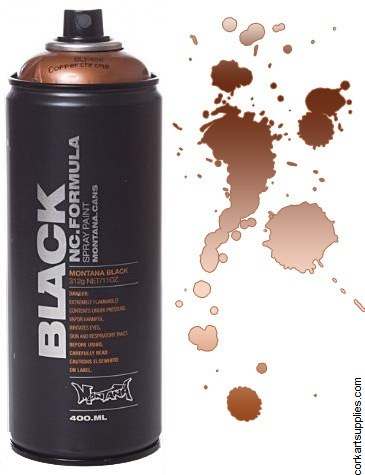 Montana BLACK Spray 400ml - Copperchrome