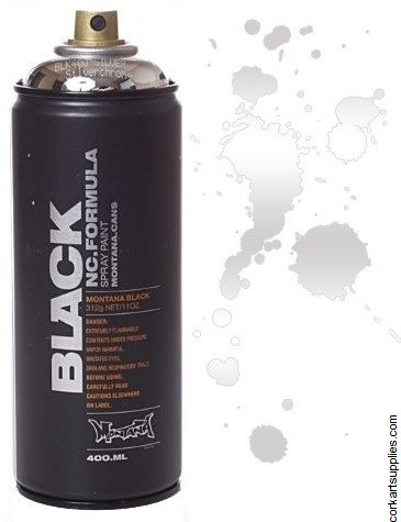 Montana BLACK Spray 400ml - Silverchrome
