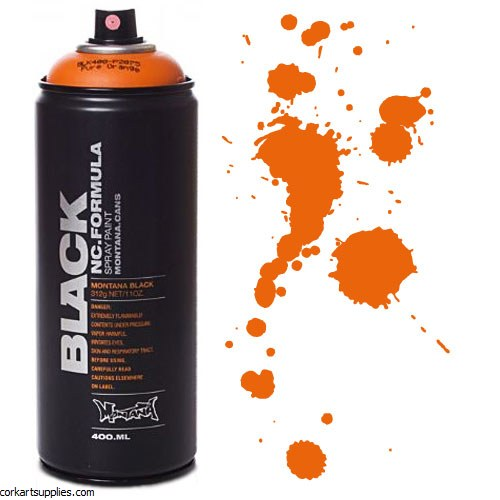 Montana BLACK Spray 400ml - Pure Orange