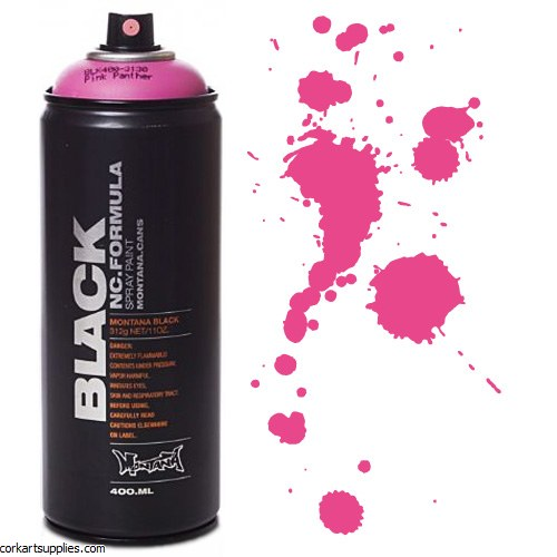 Montana BLACK Spray 400ml - Pink Panther