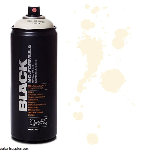 Montana BLACK Spray 400ml - Ivory