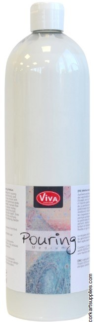 Viva Pouring Medium Transparent 1 Litre