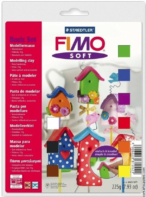 Fimo Soft Set 802310 9+3pk