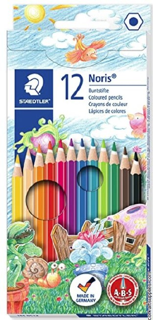 Noris Coloured Pencils 12pk