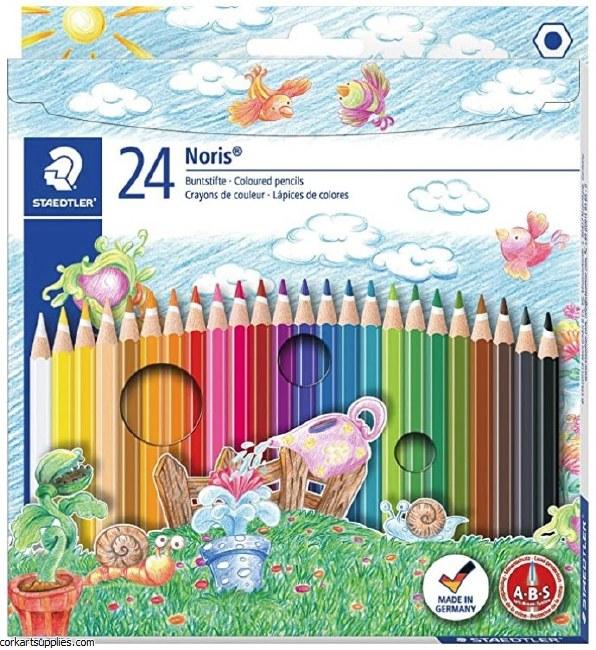 Noris Coloured Pencils 24pk