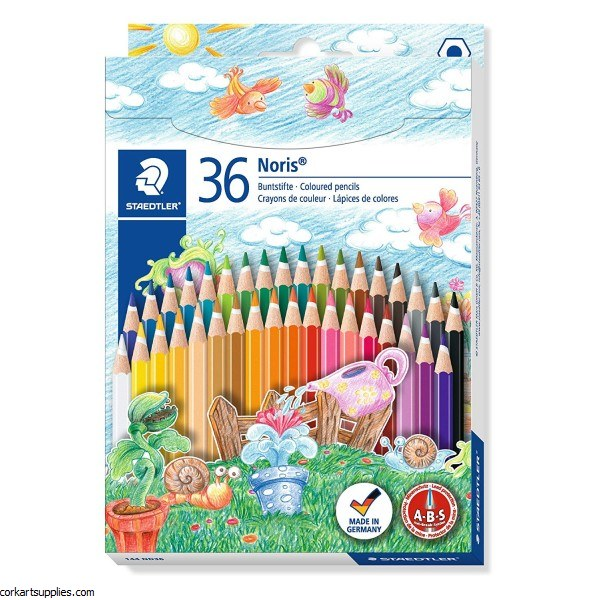 Noris Coloured Pencils 36pk