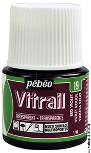 Vitrail 45ml 19 Violet Red