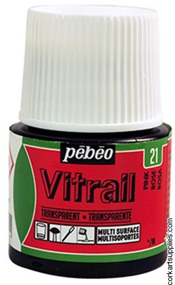 Vitrail 45ml Transparent 21 Pink