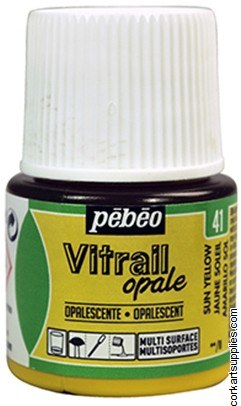 Vitrail 45ml Opalescent Sun Yellow