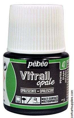 Vitrail 45ml Opalescent Pewter