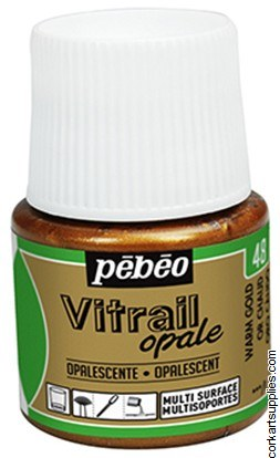 Vitrail 45ml Opalescent Gold Warm