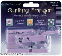 Quilling Fringer Straight Cut