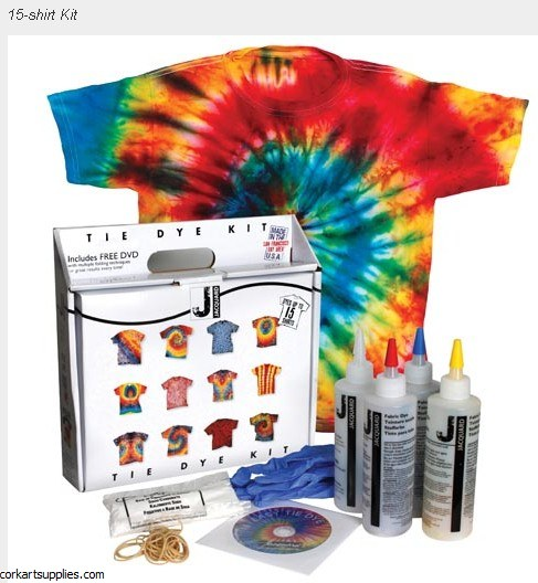 Jacquard Tie Dye Kit 2 (Dyes 15 Adult T-Shirts)