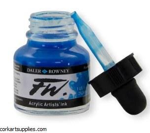 Fw Ink 29.5ml Fluorescent Blue
