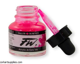 Fw Ink 29.5ml Fluorescent Pink