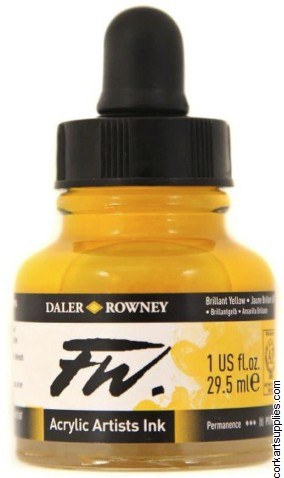 Fw Ink 29.5ml Brill Yellow