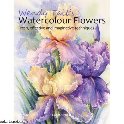 Book Watercolour Flowers WT