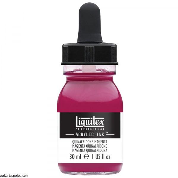 Liquitex Ink 30ml Quin Magenta