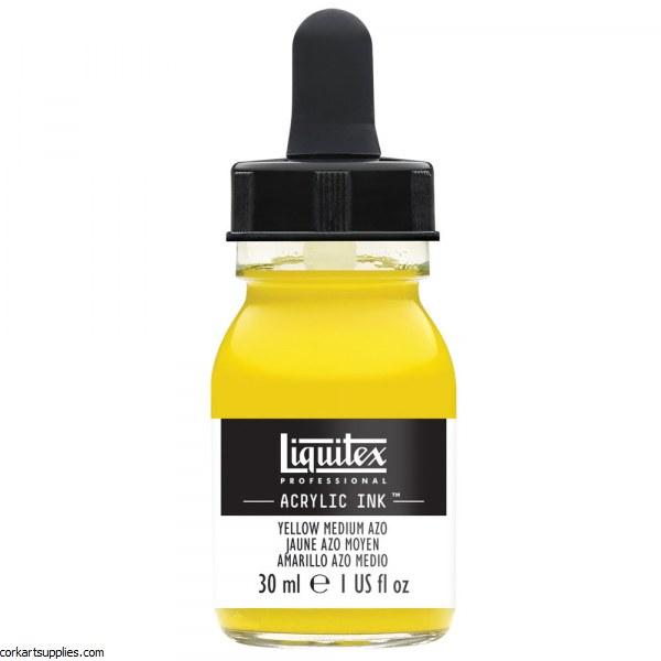 Liquitex Ink 30ml Yellow Medium Azo