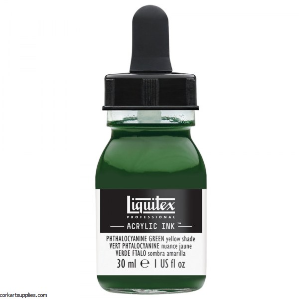 Liquitex Ink 30ml Phthalo GREEN Yell Sh
