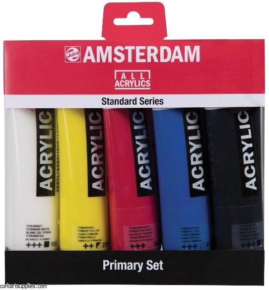 Amsterdam Acrylic 120ml 5pk^