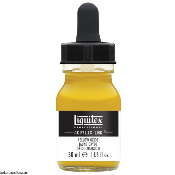 Liquitex Ink 30ml Yellow Oxide