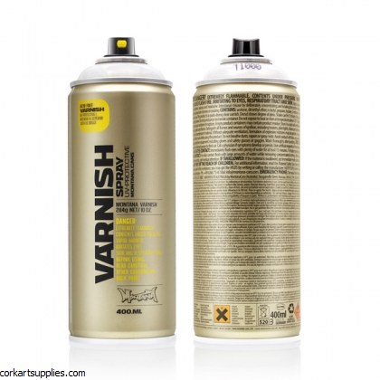 Montana Spray Varnish 400ml Gloss