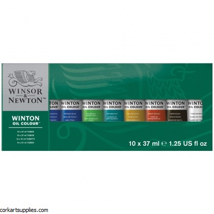 Winton Oil Colour Starter Set 10x37ml