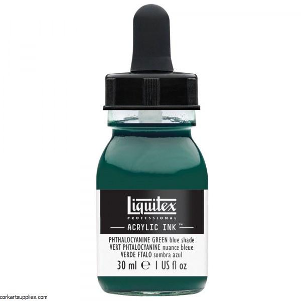Liquitex Ink 30ml Phthalo GREEN Blue Sh