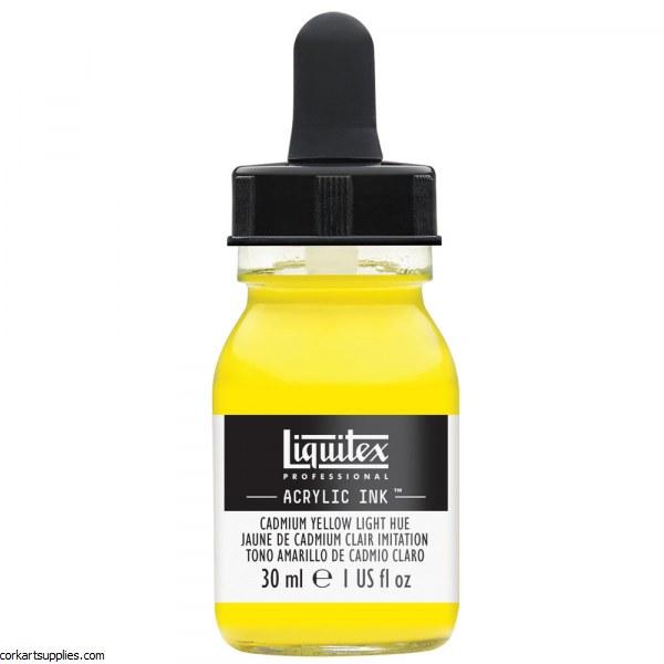 Liquitex Ink 30ml Cadmium Yellow Light