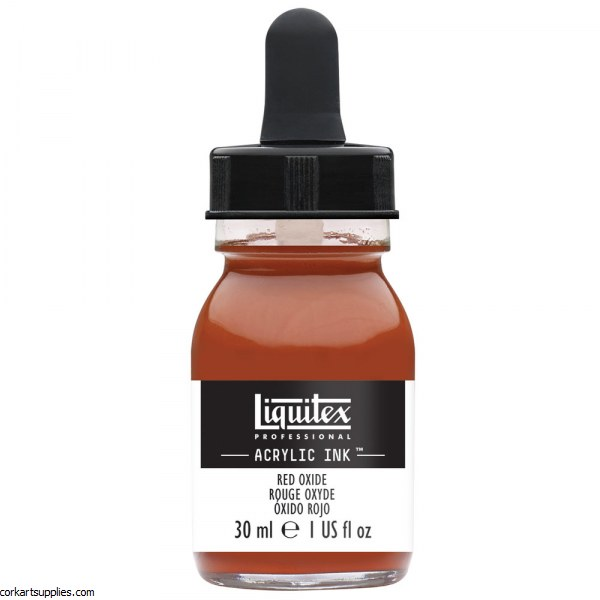 Liquitex Ink 30ml Red Oxide