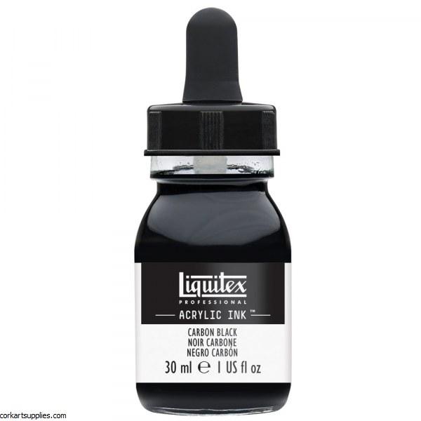 Liquitex Ink 30ml Carbon Black