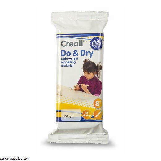 Creall Do & Dry Light 250gm White Clay