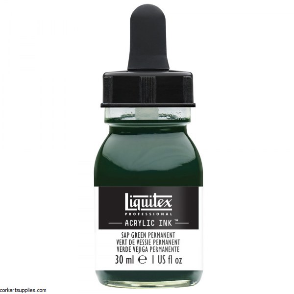 Liquitex Ink 30ml Perm Sap Green