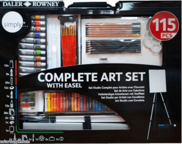 Daler Complete Art Set 115pk