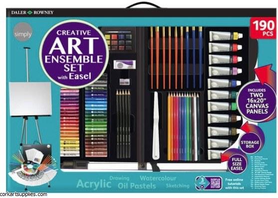 Simply Creative Art Set 190pk
