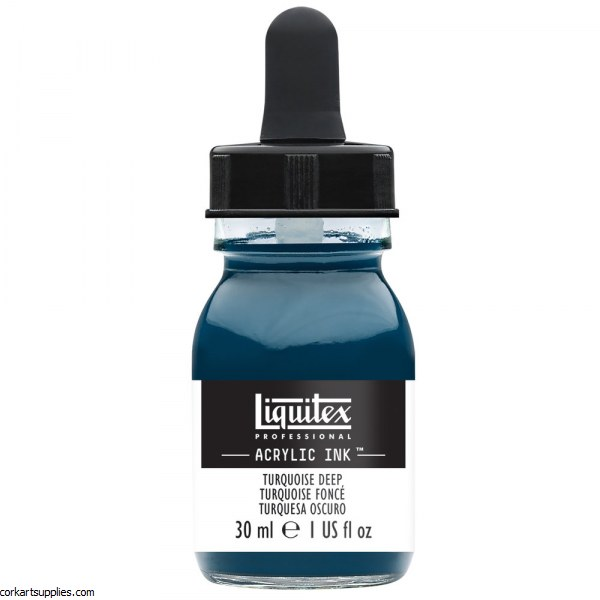 Liquitex Ink 30ml Turquoise Deep