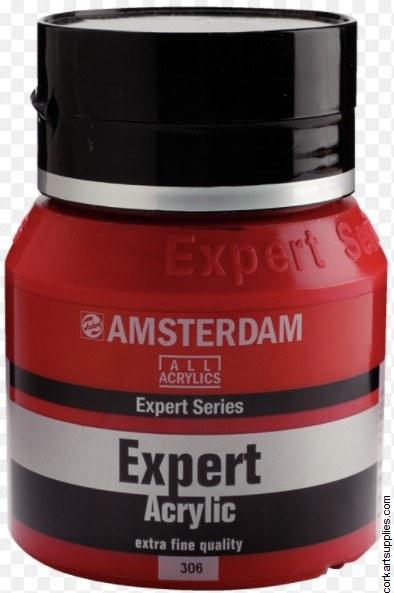 Amsterdam Expert Acrylic 400ml Cad Red Deep