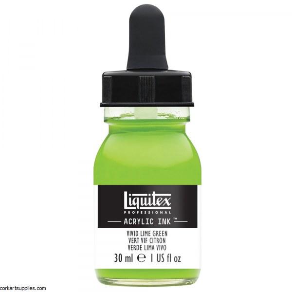 Liquitex Ink 30ml Vivid Lime