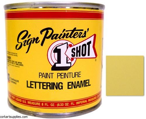 1 Shot Enamel Ivory